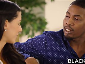 BLACKED first-ever bi-racial For Spanish honey Alexa Tomas