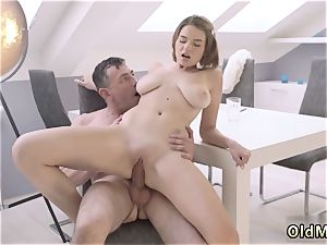 hump and subordination gangbang older wise gentleman with a youthfull jaw-dropping lady
