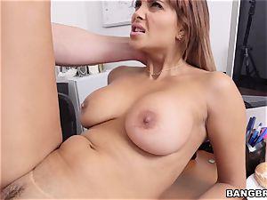 Latina cougar first-ever pornography Shoot at Bangbros hih13659
