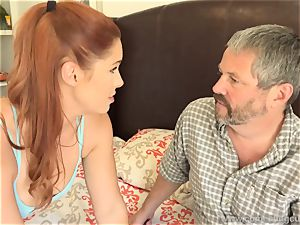 Edyn Blair torn up By large ebony salami spouse watches