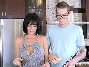 insane mother Veronica Avluv banging her sons-in-law horny mate