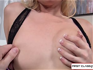 Aaliyah love deep throats and pummel a yam-sized weenie in point of view style