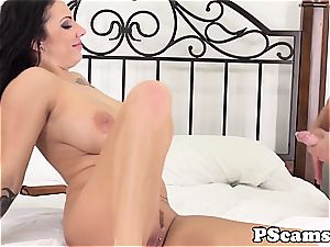 big-titted web cam babe Lylith LaVey titfucked