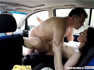 Sheriff Mirek Buying Street prostitute for bum gobbling