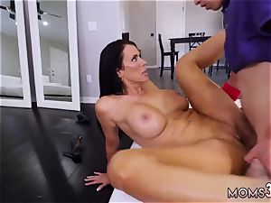 mummy taken by surprise super-fucking-hot cougar For His birthday