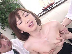 Kanon Hanai works magic on penis - More at 69avs.com