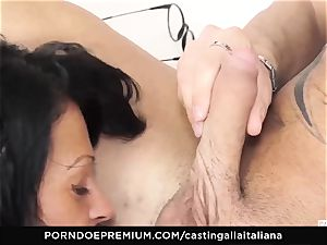 casting ALLA ITALIANA - nasty sex with local inexperienced