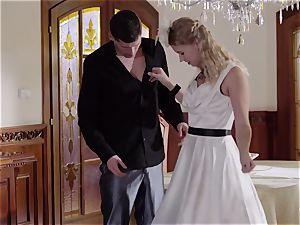 PINUP lovemaking - ultra-cute Czech blonde enjoys voluptuous pulverize