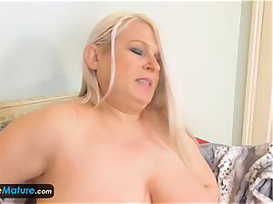 EuropeMaturE Solo chesty grandmothers Compilation