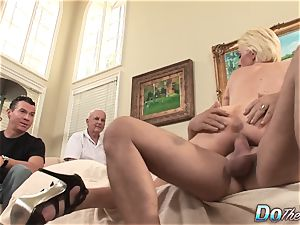 hubby watches wifey Kasey Grant sodomized
