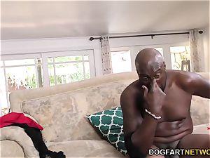 big-titted mummy Alyssa Lynn thirsty for black dick