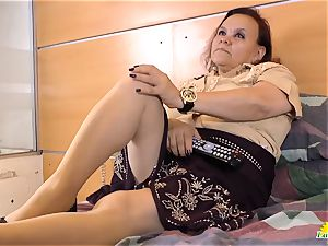 LatinChili Mature grannie Latina Solo Compilation