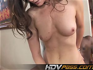 HDVPass bi-racial fuck-fest with India Summers