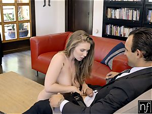 lucky guy Gets perfect assets Lena Paul For Night S7:E3