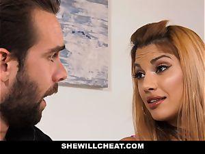 SheWillCheat - super-steamy cuckold wife vengeance tearing up
