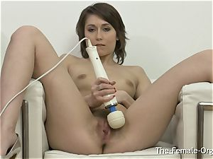 wooly cootchie honey drains to numerous throbbing climax