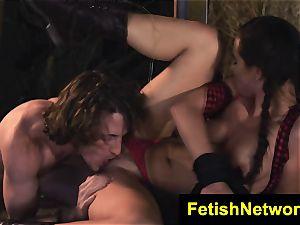TeenCreeper Aidra Fox bondage & discipline stalker marionette