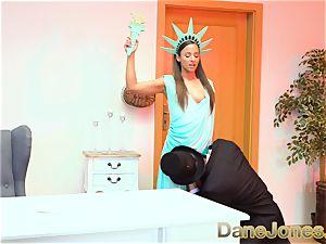 Dane Jones Amirah Adara Statue of Liberty cosplay