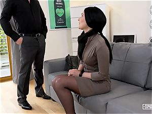 unveiled casting - super-steamy intercourse audition with Slovak babe