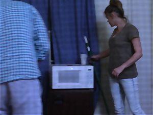 Brianna dark-skinned caught on spy webcam as she plows