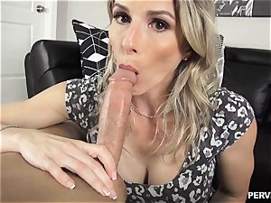 Stepson doesnt hold back sticking his sausage into cougar Cory chase