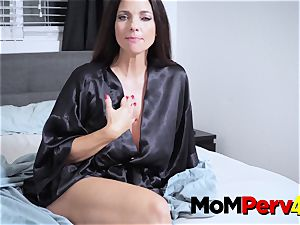 Mindy and Jessica engage in molten girl-on-girl action in the living apartment