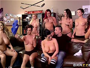 gang fuckfest with insane porn industry stars will make you rock-hard