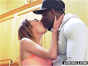 multiracial cheating sequence with frantically naughty superslut