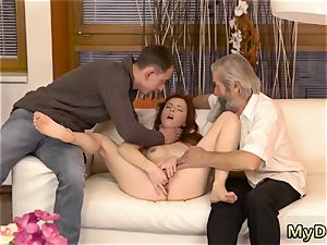 sensual step dad leaked baps unexpected experience with an senior gentleman