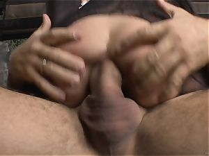 Cayenne Klein and her buddy humped by Rocco Siffredi