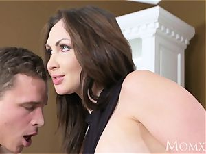 mom horny senior mummy takes home toy fellow from gym