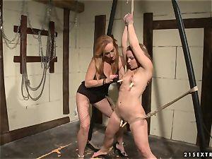 Katy Borman torrid superslut play the body of strapped babe