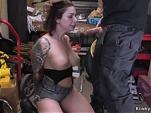 congenital chesty beauty takes anal outdoor