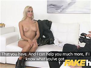 fake Agent european girl loves providing jug wank and oral job