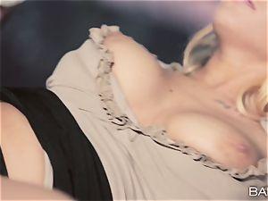 sexy secretary Kyra scorching screws her work playmate