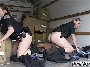 milf ass-fuck compilation and hd dark-hued suspect taken on a raunchy rail
