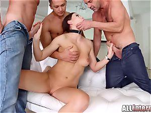 Tina Kay anal gang-bang internal ejaculation on All inner part 1