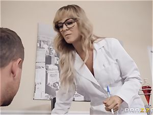 Cherie Deville luvs frolicking medic