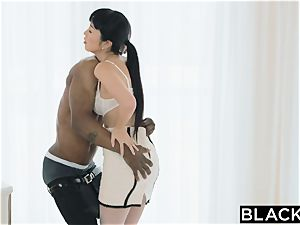 BLACKED japanese Journalist vs The thickest big black cock IN THE WORLD
