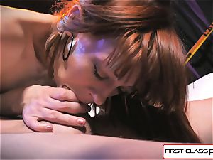 first-ever Class pov - Alexa Nova gargling a enormous meatpipe in point of view