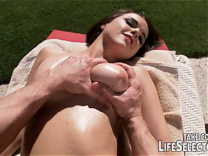 Spend a day with Dillion Harper and buddies