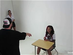 Behind the sequences with skin Diamond and Alison Tyler