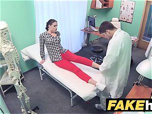 fake clinic medic prescribes goopy facial