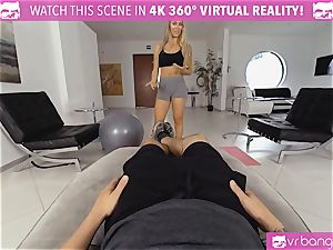 VR PORN-Nicole Aniston Gets boned rock hard and deep-throats