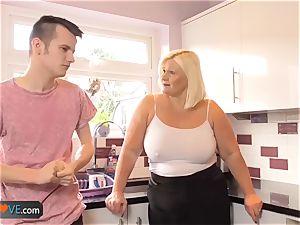 AgedLovE plumper grandmother Chubbies liking gonzo
