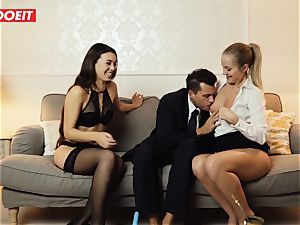 LETSDOEIT - ultra-kinky wifey Gets humped hardcore By Swingers