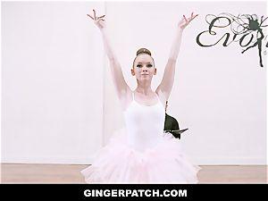 GingerPatch - ginger-haired Ballerina riding Judges huge boner
