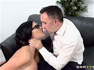 prick choking british honey Jasmine Jae poked in her booty