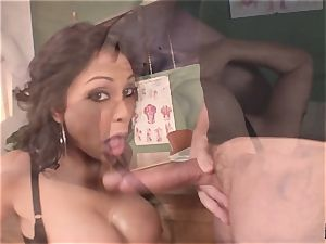 wailing and squealing Priya Rai popped in the gash by headteacher