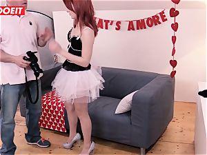 LETSDOEIT - Valentine's Day harsh fucky-fucky With camera guy